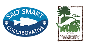 Salt Smart and The Conservation Foundation logos