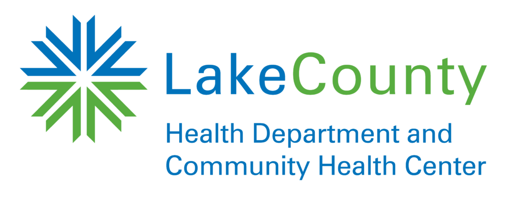 Lake County Health Department and Community Health Center logo